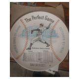 #501 Rare Don Larson vintage Perfect Game plate
