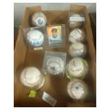 #503 Odd lot of signed baseballs