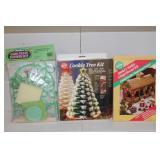 Assorted seasonal baking kits and utensils