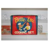 Cookie cutter sets incl. Immaculate Baking Co. Schylling, and Betty Lou