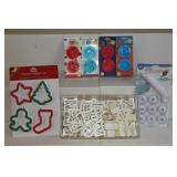 Wilton cookie cutter sets incl. alphabet