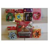 Misc. lot of Wilton cookie cutters