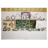 Cookie cutters incl. Christmas and animals