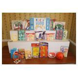 Sassafras kids cookie making kit and Hello Kitty cookie cutter set