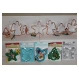 Wilton cookie cutters incl. solid copper and comfort grip