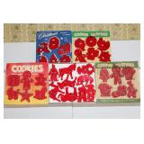 Misc. plastic cookie cutters