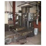 """Wotan 36"""" x 36"""" Boring Mill with built in index table – read out on all axis"""