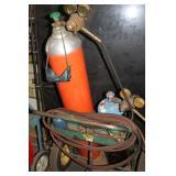 Acetylene Welder w/ tank & cart