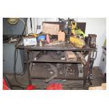 Steel Bench w/ Lg Vice