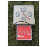 #938 Coca Cola Clock