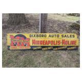 #950 Minneapolic Moline Tractor Dealership Sign - Ann Arbor, MI - Dixboro Auto Sales