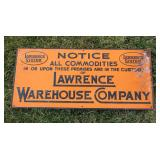 # 914 Lawrence Warehouse sign