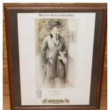 #909 trauss Brothers Model No. 181 Three Button Overcoat - Chicago