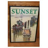 #966 Sunset Magizine enlarged cover - Nov 1934
