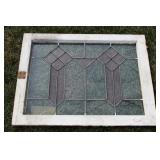 #961 Stained Glass Window