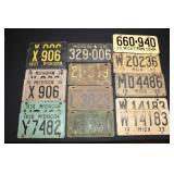#917 Vintage Plate lot- late 20