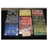 #923 Various License Plates