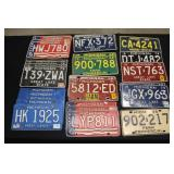 #924 Nice selection of Michigan License Plates