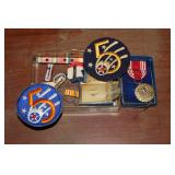 military patches and medals