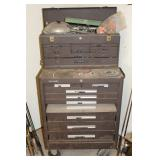 Kennedy Machinist Chest with some tools
