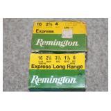 Remington 16 gauge shot gun ammo
