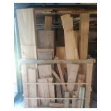 Small amount of Exotic Hardwood