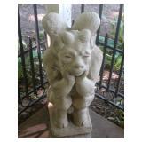 Stoneware gargoyle
