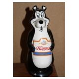 Hamm's back bar display bear
