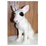 bulls-eye glass dog figure