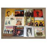 Records incl. Tom Jones, Johnny Horton
