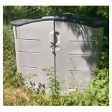 Outdoor garden cabinet