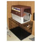 (2) Dog crates