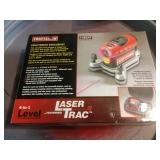 Laser trac 4 in 1 Level in box