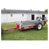 AGCO New Idea Manure spreader