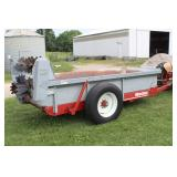 Manure spreader in good condition