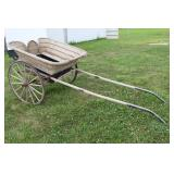 Wicker Horse drawn buggy