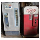 Antique Coke/Pepsi machines