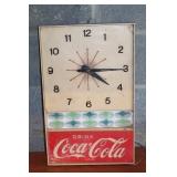 Coca - Cola vintage clock