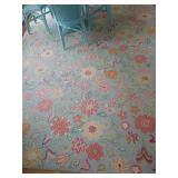 Company C Floral rug