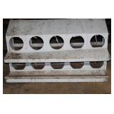 galvanized chicken nesting box