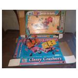 Classy Crashers w/ box - partial