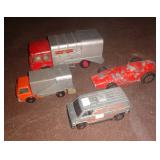 Dinky & old toy cars