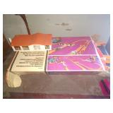 Hot Wheels race track with box