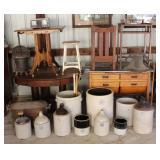 Big selection of Antiques & Farm Primitives