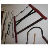 nice selection of antique tools