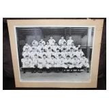 1943 Detroit Tigers signed team photo