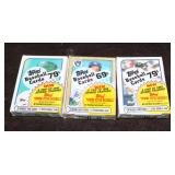 few Cello pack sealed baseball cards
