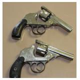pair of Iver Johnson .22 pistols