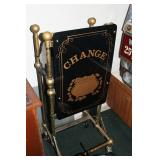 "Brass ""Change"" Rolling Stand"