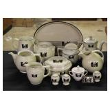 Small Collection of Hall Tavernware